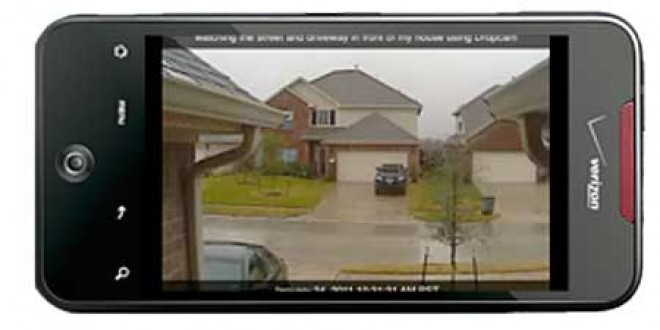 Dropcam the video surveillance app lands on Android Market