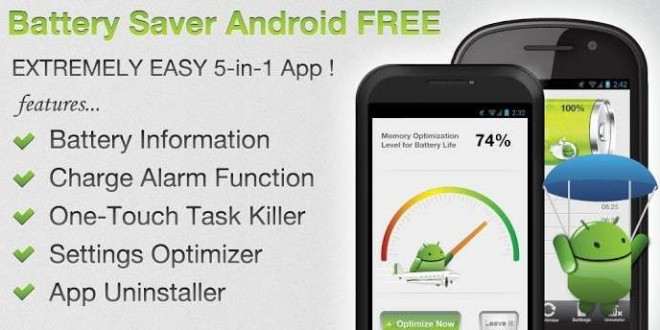 Battery Saver Android FREE