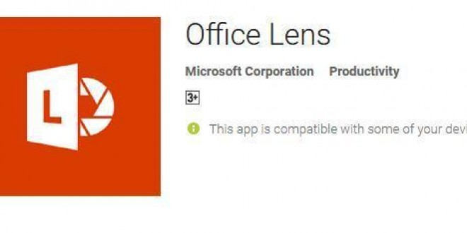 Office Lens from Microsoft [Short Review]