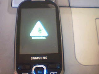 galaxy 5 downloading mode in recovery