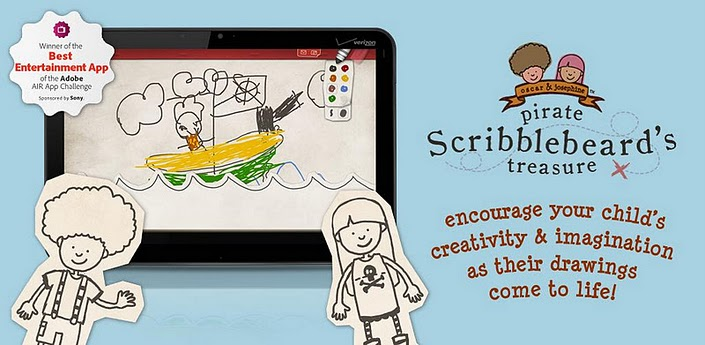 pirate Scribblebeard android educational game review