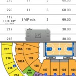 sports tickets stadium overview android app review