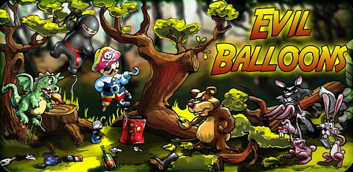 Evil Balloons android game