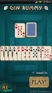 Gin Rummy free android game