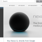 Nexus Q availablity on Play Store