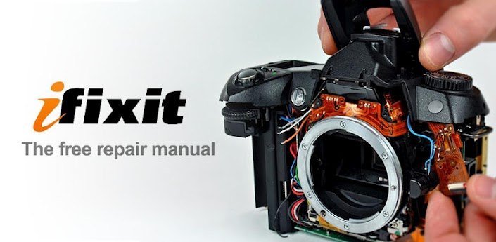iFixit repair manual for android