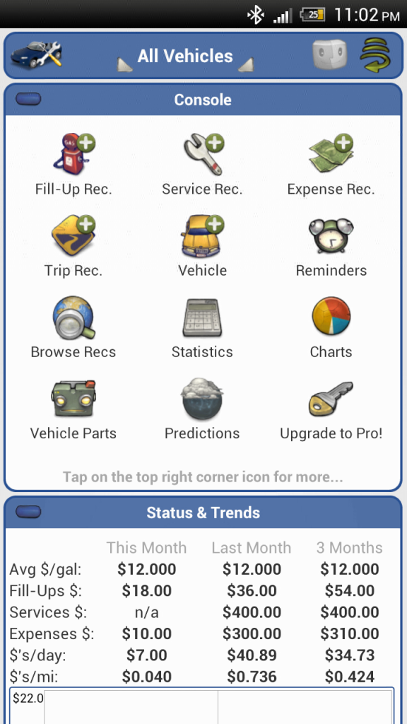 aCar dashboard Android app review