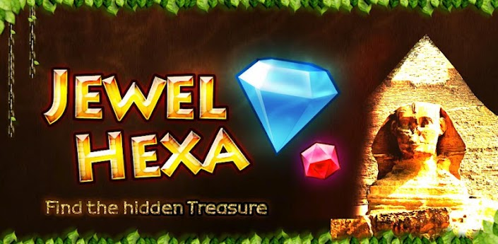 Jewel Hexa android puzzle game review banner