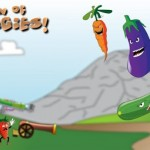 Invasion of the veggies banner