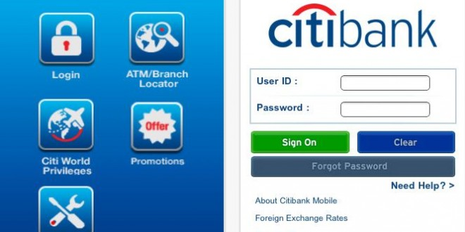 CitiBank Android App Available on Android Market