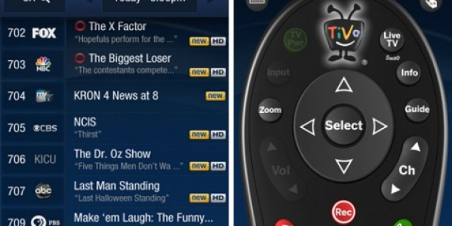 Tivo App for Android Announced at CES 2012