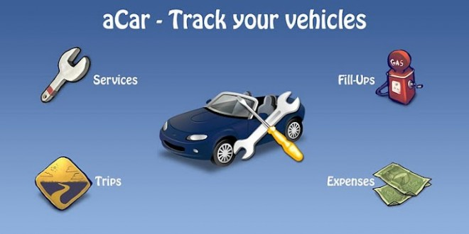 aCar – Track your vehicles
