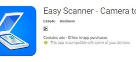 Easy Scanner – Camera to PDF [Short Review]