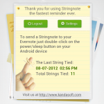 Stringnote android app review