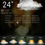 weather services android app review